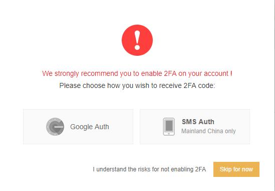 Google Authenticator Recovery Binance Poloniex Ddos Attack